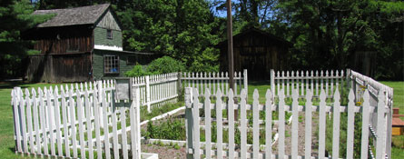 neversink valley museum ny d&h canal park rehab 1850s herb garden